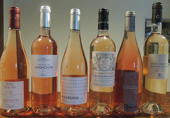 Vins rosés - Cave des Rochers