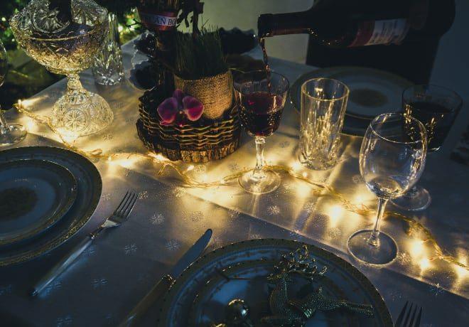 Sélection vins rouges et blancs, champagne, réveillons et repas de fêtes